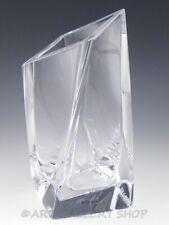 "Kosta Boda Contemporary Art Glass Crystal 8-3/4"" TWISTED VASE By Goran Warff"