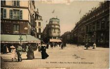 CPA PARIS 1e Rue du Pont-Neuf et Samaritaine (607377)