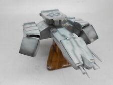Nostromo Alien Spacecraft Fictional Mahogany Wood Model Spaceship Large New