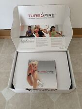 Beachbody TurboFire Box Set With 11 Dvd Set (All Bands and Books Included)