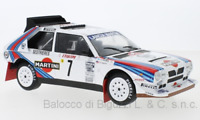 Model Car Rally Scale 1:18 Ixo Spear Delta S4 7 Rallye Monte Carlo diecast