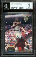 Shaquille O'neal Rookie Card 1992-93 Stadium #247 BGS 9 (9.5 9 9 9)