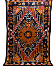 Indian Mandala Tapestries Bedspread Hippie Tapestry Wall Hanging Wall Decor Twin
