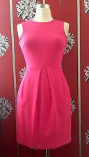 J. Crew Rose Dress US 0 UK 8/10 porté une fois en Tirer