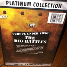 Europe Under Siege The Big Battles Dvd