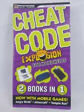 Cheat Code Explosion Book for Handhelds mobile ds  ps portable , Consoles 2 in 1