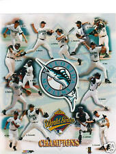 1997 FLORIDA MARLINS World Champs Unsigned 8x10 Photo