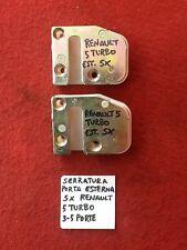 RENAULT R5 TURBO SCONTRI PORTA DESTRO E SINISTRO -