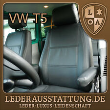 LEDERAUSSTATTUNG DE VW Transporter T5 Multivan Sitzbezüge,Schonbezüge,Tuning NEU