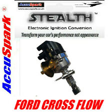 Ford Escort X flow 45D AccuSpark Stealth Electronic Distributor. side cap