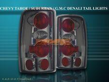 2000-2006 TAHOE DENALI YUKON SUBURBAN TAIL LIGHTS SMOKE 01 02 03 04 05