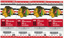 1 CHICAGO BLACKHAWKS VS DETROIT RED WINGS TICKET STUB 4/12/13 3-2 WIN TOEWS GOAL