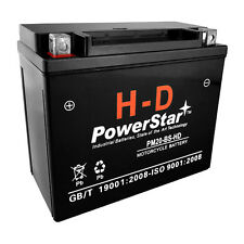 PowerStar H-D Motorcycle Battery for Harley Davidson - 3 Year Warranty -YTX20-BS