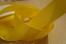 ** Satin Ribbon, Yellow Colour 12mm x 5 Mtres**