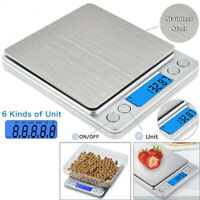 0.01-3000g LCD Digital Electronic Balance Jewelry Kitchen Food Weight Gram Scale