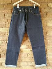 Levis Vintage Clothing LVC Blue Raw 1962 551z Selvedge Zip Jean W34 L35 £225 NEW