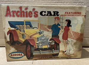 ORIGINAL AURORA ARCHIE'S CAR PLASTIC MODEL _BOX ONLY_