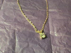 Costume Necklace With Fake Stone - Average Length. - Brand New