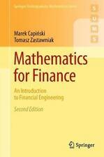 Springer Undergraduate Mathematics: Mathematics for Finance : An Introduction to