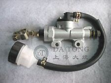Rear Foot Brake Master Cylinder Pump w/ Reservoir GY6 50cc 125 150cc Scooter ATV