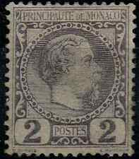 TIMBRE MONACO 1885 n°2 NEUF*