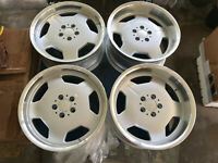 "For r107 w124 r129 w201 s210 w211 mercedes benz 18"" Aero Monoblock Style wheels"