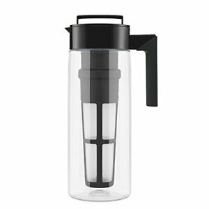 Takeya Iced Tea Maker with Patented Flash Chill Technology Made in USA 2 Quar...