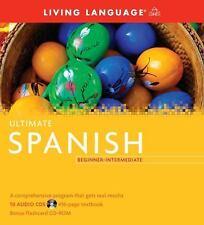 Ultimate Spanish Beginner-Intermediate (Book and CD Set): Includes Comprehensive