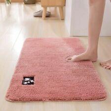 Non-Slip Carpet Bath Cotton Fiber Super Absorbent Shower Toilet Floor Rugs 4size