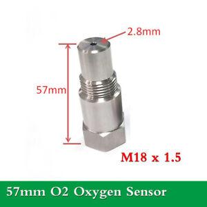 1pc Universal 57mm O2 Oxygen Sensor Catalytic Extension Fix CEL Code M18 x 1.5