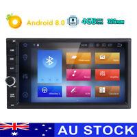 "Double 2 Din 7"" Android 8.0 4GB RAM Car Stereo Radio GPS Navigation Navi SD OBD2"