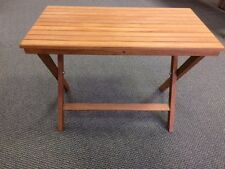 Burmese Teak Fold-Down Table (made by Teakworks4u)