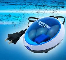 Quiet Power Aquarium Fish Tank Air Pump + free air stone and tube Valve Lc312