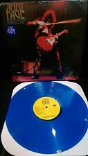 JIMMY PAGE Burn Up Limited Edition Blue Vinyl LP J.P. Jones J. Bonham (Led Zep)