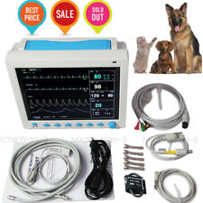 VET Patient Monitor ICU Vital Signs ECG NIBP SPO2 PR RESP TEMP Animal Veterinary