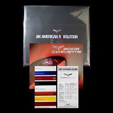 CORVETTE 2005 BOOK + DVD + 2004 NAIAS BROCHURE + C6 CHART - CHEVROLET: LS2 COUPE