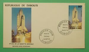 DR WHO 1981 DJIBOUTI FDC COLUMBIA SPACE SHUTTLE  C241461