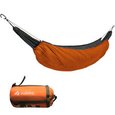 New listing Subito Camping Hammock Portable Outdoor  Foldable Lightweight Travel P6H0