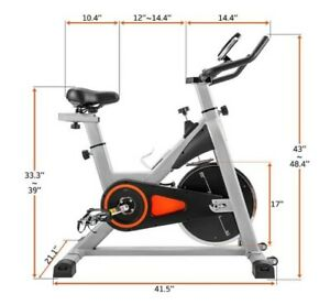 Spinning Bicycle Household Slimming Equipment Indoor Bicycle Ultra-Quiet Sports