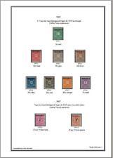 -Album de timbres Haute-Volta avant indep à imprimer
