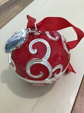 Pandora Radio City Rockettes Red Ball Ornament