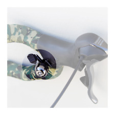 Osaka Roadie Clip Ping Bicycle Bell Silver Mounts to Handlebar Shift Brake Cable