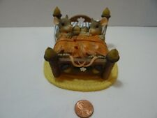 Charming Tails The Honeymoon's Over Mice Figurine 89/763 Bed Babies Acorns