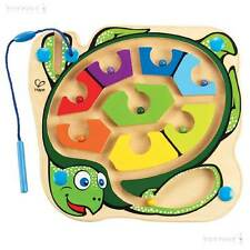 Colourback Sea Turtle Puzzle Wooden Magnetic Maze Labyrinth Toy Traditional
