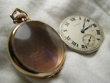 G/P 0/6s Pocket Watch Needs Balance Waltham Sapphire Model 13-Jewel Open Face