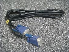 NEW 15 PIN SVGA VGA Monitor M/M Male To Male Cable CORD FOR PC TV