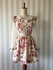 LIZ LISA Lolita Mori-girl kawaii himekaji floral dress