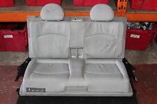MERCEDES E CLASS W211 E320 CDI 2004 3RD ROW REAR BOOT SEATS IN GREY