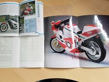 Bimota YB8 YB 8 Prospekt, KFZ Brief und Fach Buch Leaflet car letter and tray