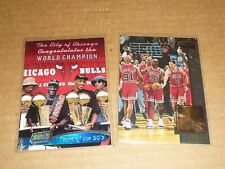 Topps Stadium Club MEMBERS ONLY CHICAGO BULLS LOT OF 2 MICHAEL JORDAN PIPPEN